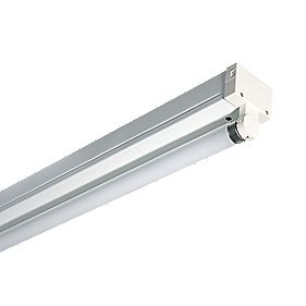 Pop Pack Switch Start Fluorescent Batten 1 x 58W 5ft (1500mm) Pack of 4
