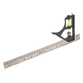 "Forge Steel Combination Square 12"" (305mm)"