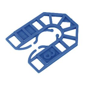 Plastic Shims 55 x 3 x 43mm Pack of 200