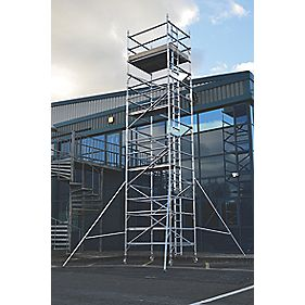 Lyte SF18DW72 Helix Double Width Industrial Tower 7.2m