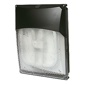Trac Churchill 2D 28W Bulkhead Commercial Floodlight & Photocell