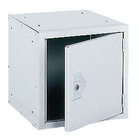Security Cube Locker 380mm Grey