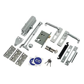 Lever Lock Fire Door Set - SAA