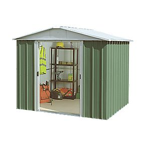 "Yardmaster Sliding Door Apex Shed 7'10"" x 9'2"" x 6'3"""