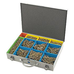 Spax Screws Professional Trade Case 1500Pcs