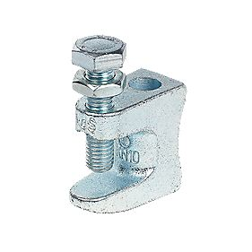 Beam Clamps 19mm Beam/11mm Stud/240kg Load Pack of 5