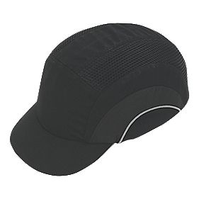 JSP Hardcap Short Peak Bump Cap Black