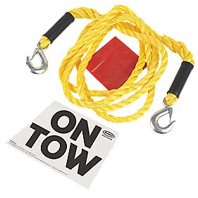 Ring Automotive 3.5 Tonne Heavy Duty Tow Rope 4m