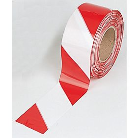 No Nonsense Barrier Tape Red / White 75mm x 50m