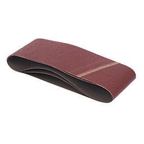 DeWalt 100 x 610mm 60 Grit Sanding Belts Pack of 3