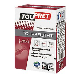 Toupret Touprelith F Exterior Masonry Repair Filler Multi Purpose Fillers