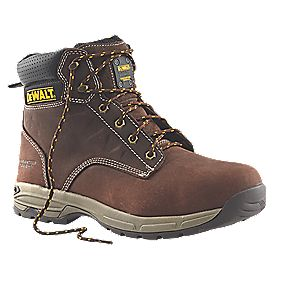 DeWalt Carbon Safety Boots Brown Size 8