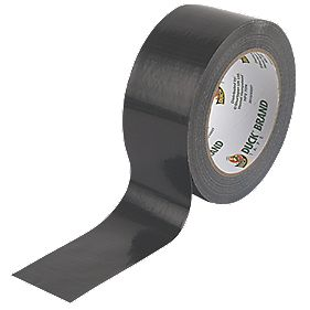 Duck Ultimate Cloth Tape Black 50mm x 25m