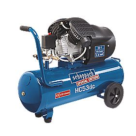 Scheppach HC53DC 50Ltr Twin Cylinder Air Compressor 240V