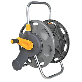 Hozelock 2-in-1 Hose Reel 60m Capacity 60m
