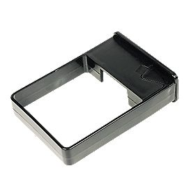 Black Square Line Easyfit Clip Pack of 10