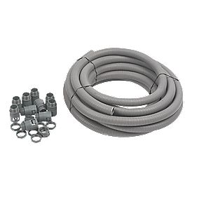 Adaptaflex General Purpose Pack & PVC Pliable Conduit 25mm Grey