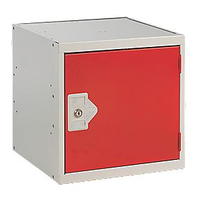 Security Cube Locker 450mm Red