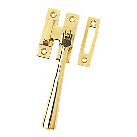Serozzetta Carlisle Brass;Casement Fastener Window Handle Polished Brass