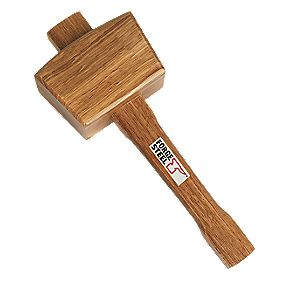 ForgeSteel Wooden Mallet 12.5 ""