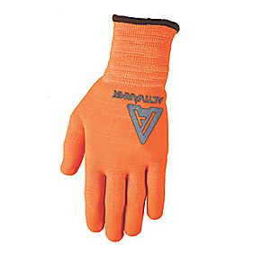 Ansell Cut 5 Mercury Kevlar Gloves Orange Large
