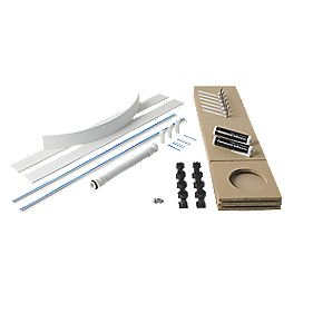 Universal Easy Plumb Kit White