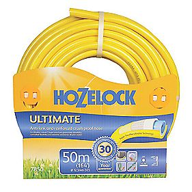 "Hozelock Ultimate Hose Yellow 50m x ½"" (13mm)"