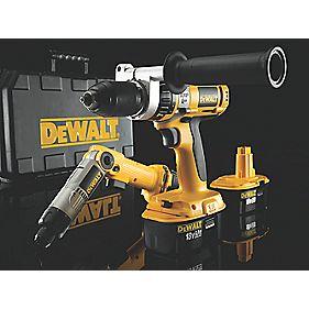DeWalt DC988KPD 1.3Ah Ni-Cd 18V Combi Drill & 7.2V Screwdriver XRP