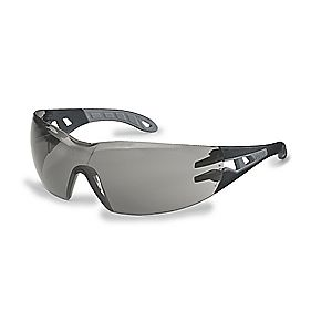 Uvex Pheos Smoke Grey Lens Sports Safety Specs Small