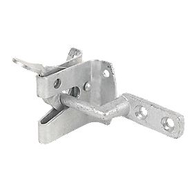 Strong Garden Gate Latch Galvanised 120mm