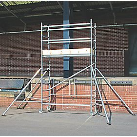 Lyte LIFT2.1 Folding Work Tower System 2.1m Platform