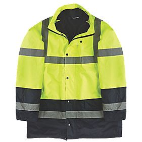 "Site Hi-Vis 3-in-1 Jacket Yellow XX Large 61"" Chest"