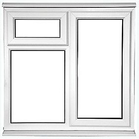 STF OPP uPVC Window Clear 1200 x 1200mm