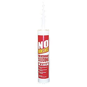 No Nonsense 11764802 Fire Retardant Silicone White 310ml