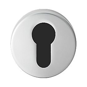 Serozzetta Euro Profile Escutcheon Satin Chrome 52mm