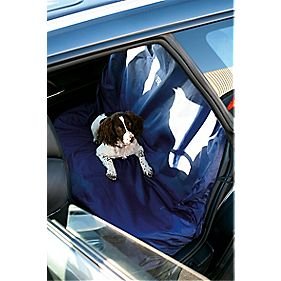 Laser Vehicle Rear Seat Protective Cover Blue 150cm