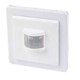 LightwaveRF Wall-Mounted Wireless PIR White