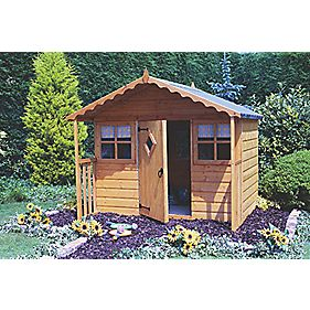 Cubby Playhouse 5' 9 x 3' 9 x 1.7m