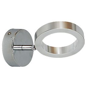Ranex Anzio Bathroom Wall Light Brushed Chrome 3.6W
