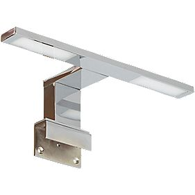 Ranex Como Double Bathroom Mirror Light Chrome 4W