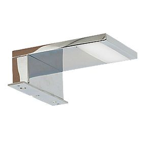 Unbranded Lazise Bathroom Mirror Light Chrome 3.6W
