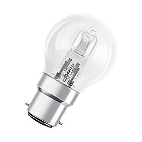 Osram Classic ECO Superstar Ball Halogen Lamp BC 405Lm 30W