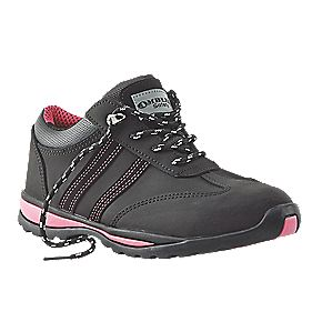 Amblers Steel Ladies Safety Shoes Black Size 4