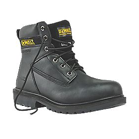 DeWalt Maxi Safety Black Boots Size 8