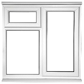 STF OPP uPVC Window Clear 1200 x 1050mm