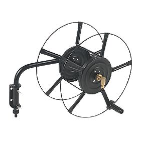 Wall-Mounted Hose Reel 60m Capacity