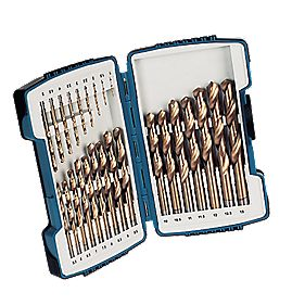 Erbauer HSS Titanium Drill Bit Set 25Pcs