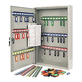 Sterling 100-Hook Key Cabinet Safe