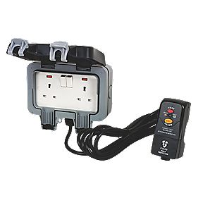 BG Nexus Outdoor Power IP66 Socket Kit