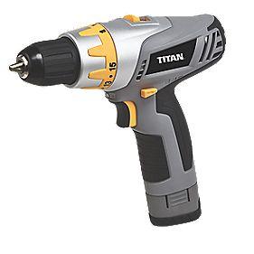 Titan TTP451DDH 10.8V 1.3Ah Li-Ion Cordless Drill Driver